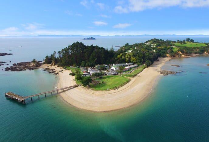 Pakatoa Island, 50 million NZD + GST (if any)